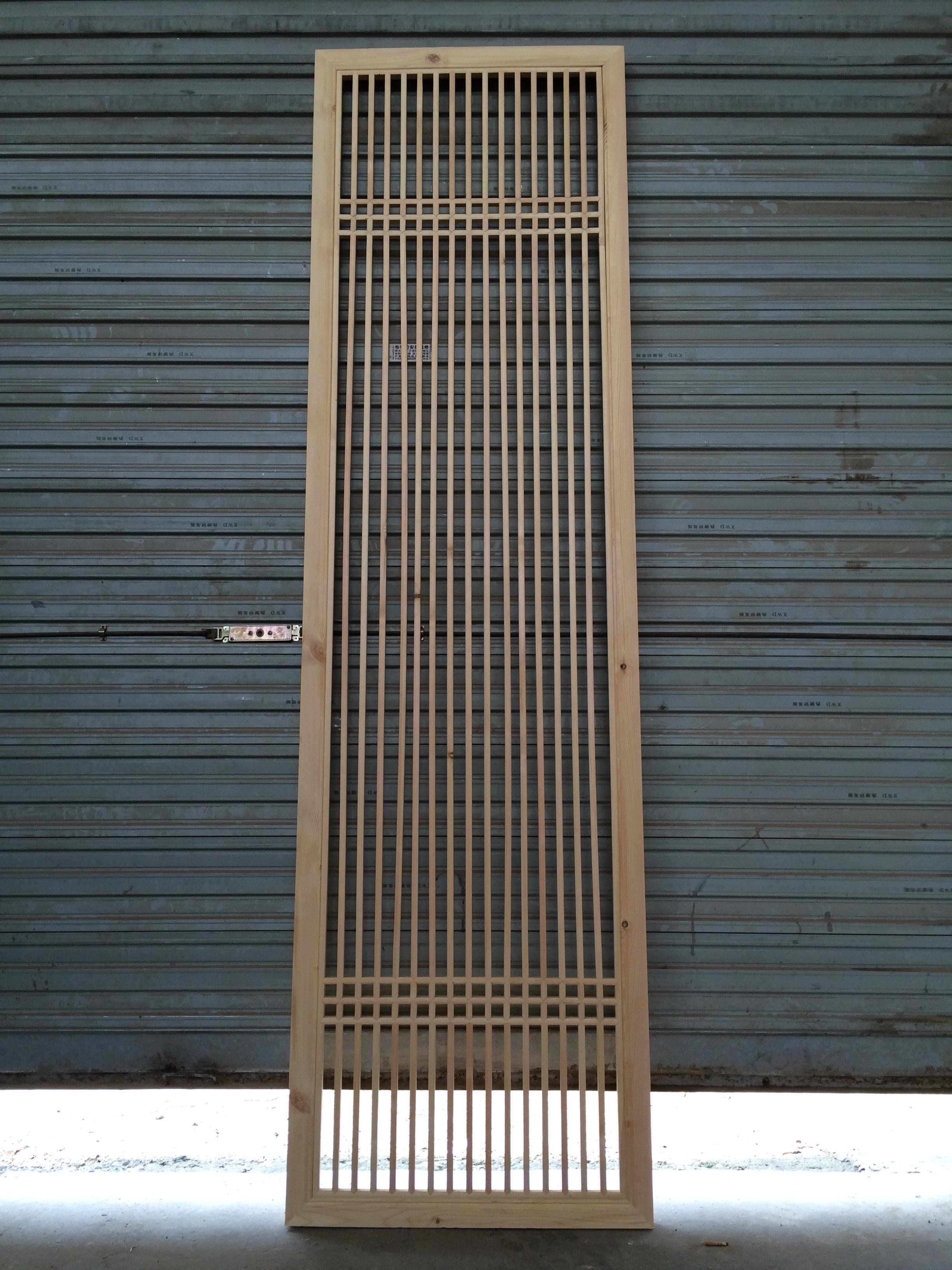 中式复古门窗 实木花窗 福运 mc-204