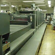 二手进口印刷机进口流程四环节图片