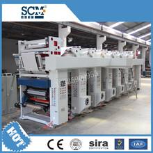 SCM-600型全自动热转印膜凹版印刷机高速薄膜印刷机气球印刷机图片