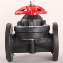 宁波北仑宝蒂专业生产手动阀门FRPP法兰隔膜阀G41F-10S塑料阀门PP隔膜阀