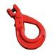 G80歐式羊角安全鉤(羊角自鎖鉤)-保定市凱萊索具有限公司