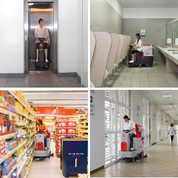 北京洗地机产品,质优价廉的好产品,COMAC手扶式洗地机L20B