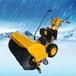 新疆北屯掃除厚雪及壓實的積雪只有大功率掃雪機SSJ15.66