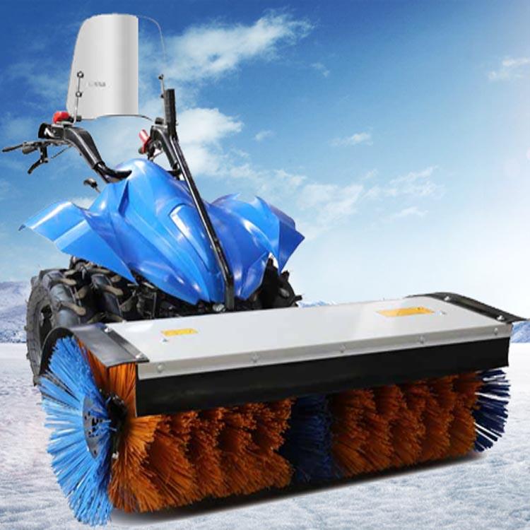 克拉玛依油田四季多功能扫雪机SSJ1500NEW,可配园林机头,驾驶扫雪速度更快