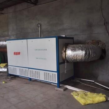 供應平安縣網格布涂膠烘干熱風爐-響咚咚零排放電磁熱風機組
