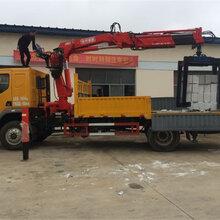 型号:日喀则夹砖7吨蓝牌随车吊拖拉机随车吊工作视频