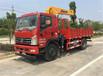 3.2噸:淮安夾竹具豪曼藍牌隨車吊隨車吊效率