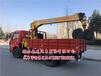 5噸:佳木斯夾竹南駿藍牌隨車吊農用三輪最小隨車吊