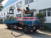 型号:深圳夹砖6.3吨蓝牌随车吊随车吊平板运输车公告