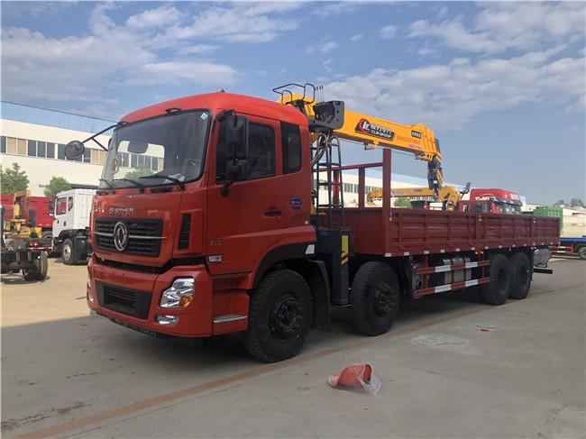 12吨天龙随车吊天龙前四后八随车吊DFH5310JSQAX1V早上手早赚钱