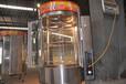 淄博供应850型烤鸭炉_淄博新款炭气两用旋转烤鸭炉价格_烤鸭炉厂家