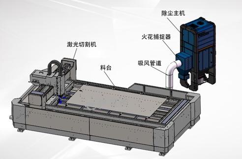 森达JTLJ-8CD金属板材切割烟尘净化器