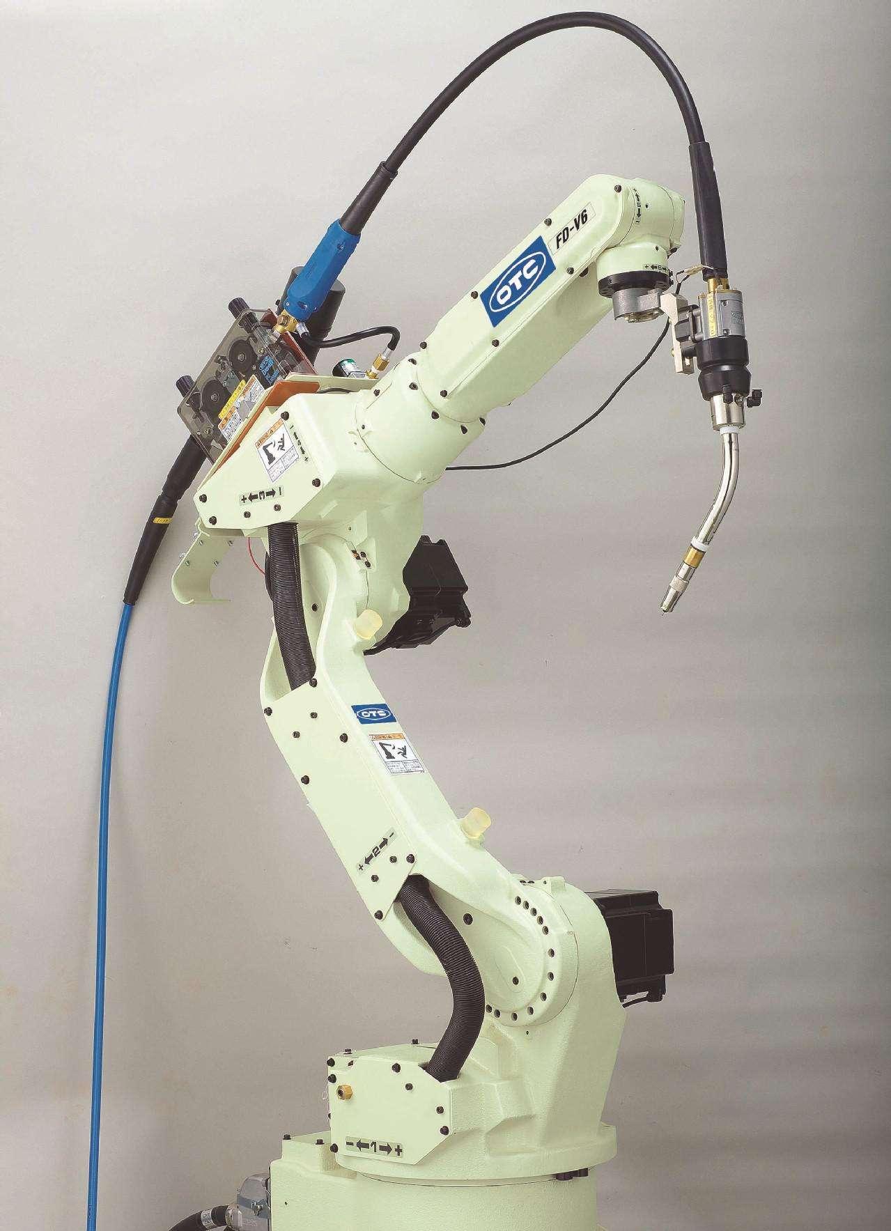 陕西otc焊接机器人焊接机器人常见故障及解决方法