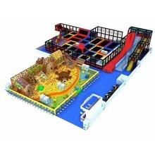 青岛淘气堡厂家免费设计全国上门安装室内儿童游乐设备专营图片