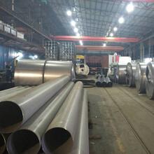 304工業厚壁不銹鋼焊管190x3.0mm不銹鋼管材報價圖片