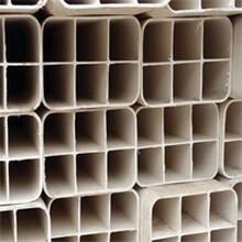 厂家pvc材质穿线管白色方管图片
