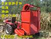 内蒙供应小型拾草机小四轮收草机小型秸秆粉碎回收机