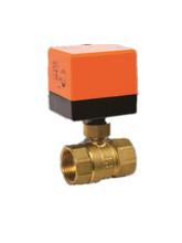 电动温控阀电动执行器温控阀门DN25图片