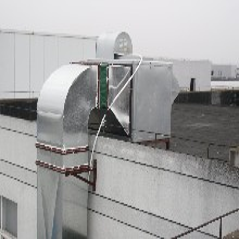 海淀油烟管道食堂后厨烟罩加工管道通风设备安装