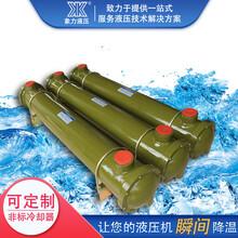 厂家列管式冷却器CL-411压铸机注塑机冷却器铜管散热器图片