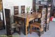 绵阳老船木茶台品牌选老渔夫2017年新款船木家具客厅适用接受船木工程定制