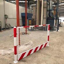 基坑护栏-工地围挡-铁马护栏-电梯安全门-草坪护栏-pvc护栏图片