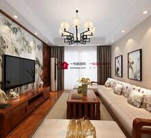 中式风格,装修案例,精致装修,一号家居网图片