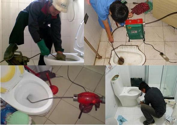 专业下水道疏通马桶维修疏通高压清洗化粪池清理