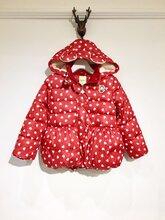 青蛙王子羽绒服冬装外套一手货源批发品牌折扣童装批发走份