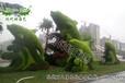 阜新立體綠化_五色草造型_立體造型_植物雕塑