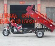 中华日盛自卸三轮摩托车厂价直销图片