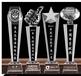 西安水晶獎杯制作廠家專業k9獎杯設計定制策騰獎杯廠家