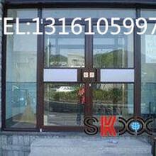 北京安裝肯德基門維修感應門門禁安裝玻璃門換地彈簧圖片
