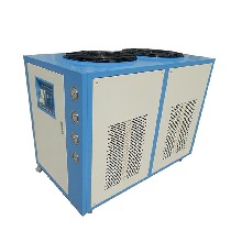 800KVA油浸式变压器专用油冷却器_5匹10匹冷油机图片