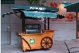 济南商业街售卖亭,青岛步行街贩卖车,户外饮料售货屋
