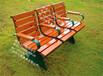 美国公园定制公园椅休闲椅厂家供应