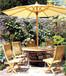 广州户外桌椅生产厂家定做实木桌椅休闲套椅厂家批发价格