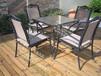 供应奥园广场咖啡厅时尚户外桌椅户外实木防腐桌椅厂家直销价格实惠