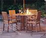 鼓浪屿旅游景区美食户外桌椅户外实木防腐套椅热销产品