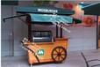 合肥景区木制售卖亭户外流动售货车手推修小吃车
