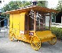 大连公园游乐园定制售货车童趣售卖亭热销木制手推车