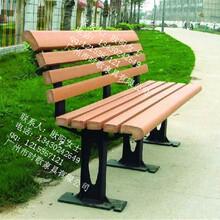 街道实木靠背长椅楼盘小区定做休闲椅厂家定制批发图片