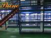 烟台阁楼式货架二层钢结构平台定做价格图片
