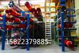 排水管如何存放?排水管材專用貨架