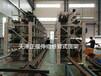 江西南昌伸縮式懸臂貨架圓鋼存放架鋼管槽鋼角鋼放置架