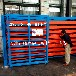 江蘇蘇州板材倉儲貨架重型抽屜式貨架鋼板存放架