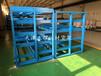 山西太原板材貨架廠家生產存放不銹鋼板銅板鋁板的貨架