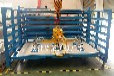 浙江杭州鋁板貨架抽屜式鋁板存放架臥式銅板架子