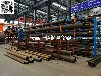 河南鄭州鋼管貨架伸縮懸臂式結構管材擺放架報價