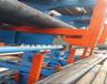 上海青浦圓鋼貨架伸縮懸臂式結構棒料存放架
